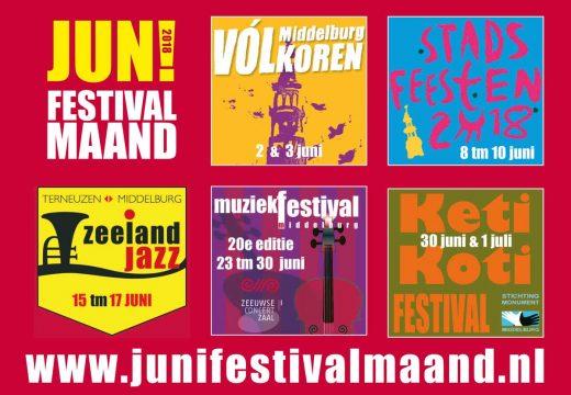 JUN! Festivalmaand Middelburg